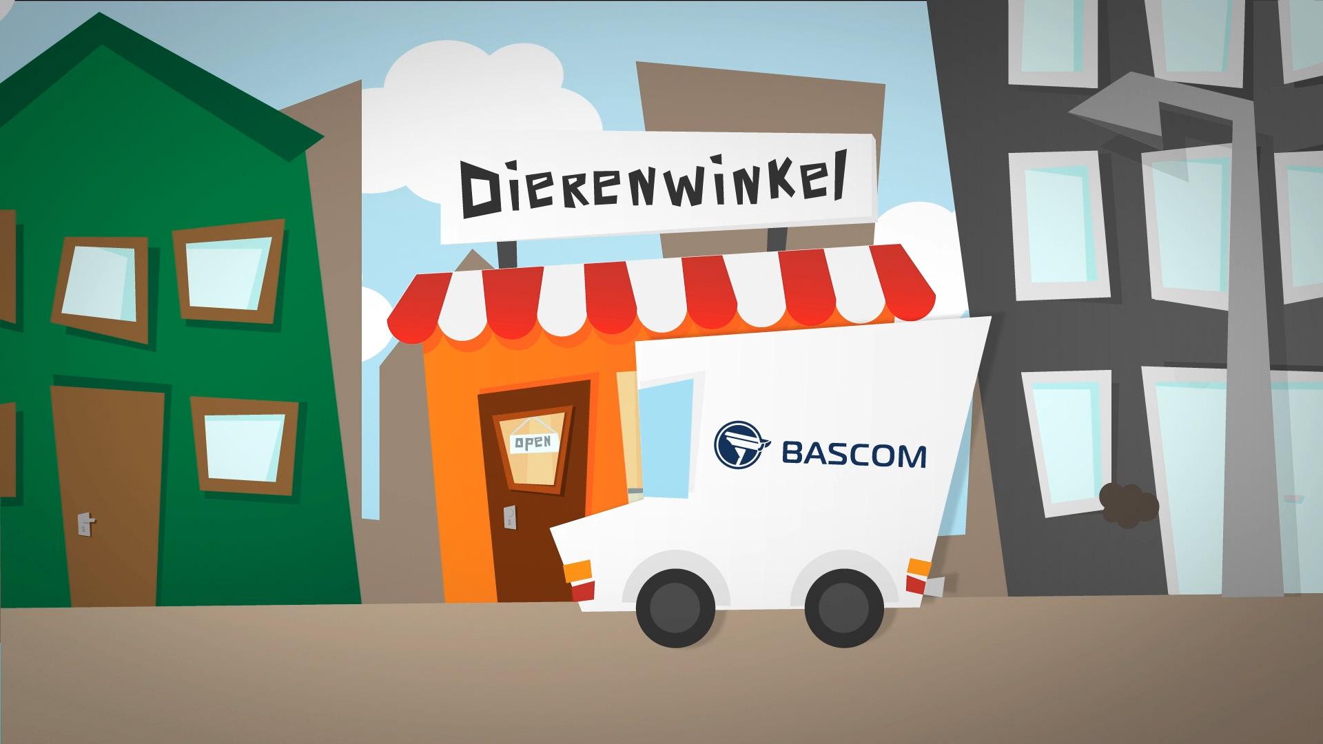 Corporate Animatie Bascom camera's